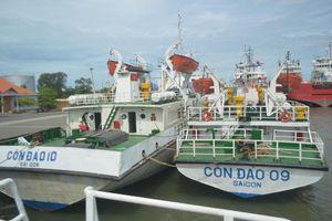 Tàu Côn Đảo 09 bán thanh lý dù mới sửa chữa hơn 2,4 tỉ