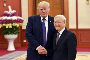 Tổng bí thư Nguyễn Phú Trọng gửi điện mừng Quốc khánh Mỹ đến TT Trump