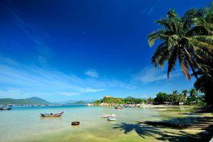 Bờ biển có nước ngọt ở Khánh Hòa