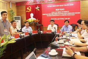 Quận Thanh Xuân xử lý 1.150 trường hợp vi phạm trật tự đô thị
