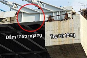 Đường cầu Vàm Cống nứt do trời mưa: Hi hữu, phản cảm