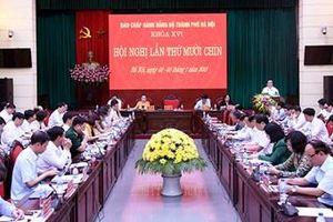 Tập trung chuẩn bị tốt nhất cho Đại hội lần thứ XVII Đảng bộ TP Hà Nội
