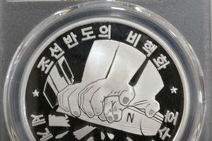Triều Tiên bất ngờ ra đồng xu kỷ niệm ca ngợi phi hạt nhân hóa bán đảo