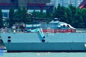 Trung Quốc thử nghiệm trực thăng mới dùng cho tàu chiến