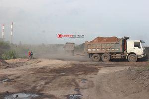 Mở đường riêng, 'tuồn' tro xỉ Nhiệt điện Cẩm Phả đi san lấp mặt bằng ở Quảng Ninh?
