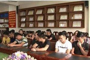 Triệt phá 2 sới bạc 'khủng' ở Quảng Ninh, tạm giữ hình sự 23 đối tượng