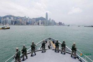 Trung Quốc công bố hình ảnh diễn tập quân sự ở Hồng Kông sau biểu tình bạo lực