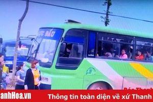 Huyện Thạch Thành: Tăng cường tuần tra, kiểm soát việc vận chuyển công nhân đối với các nhà xe