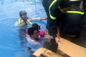 Bé gái 4 tuổi bị mắc kẹt ở bể bơi tại khu đô thị triệu đô Ciputra: Bể bơi thiếu an toàn?