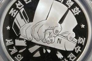 Triều Tiên phát hành đồng xu đề cao nỗ lực phi hạt nhân hóa