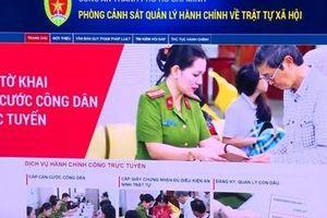 Ra mắt trang thông tin điện tử giúp người dân TP Hồ Chí Minh làm căn cước tại nhà