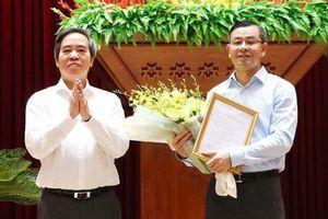 Phó Ban Kinh tế Trung ương làm Phó Bí thư Tỉnh Hòa Bình