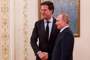 Tổng thống Nga thảo luận với Thủ tướng Hà Lan về vụ tai nạn máy bay MH17