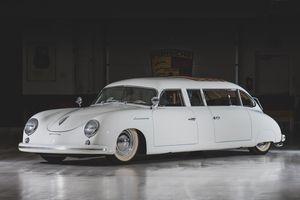 Porsche 356 bản limousine độc đáo nhất hành tinh được bán đấu giá