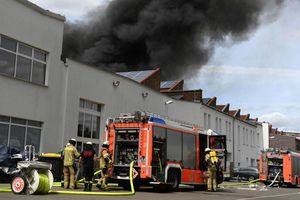 Cháy lớn tại Chợ Đồng Xuân của người Việt ở Berlin