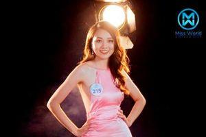 Cận cảnh nhan sắc trời ban của thí sinh Miss World Việt Nam 2019 phía Bắc