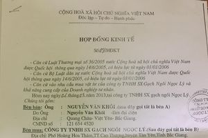 Bắc Ninh: Một doanh nghiệp 'chây ì' gần 4 tỷ đồng tiền hàng, không chịu trả?