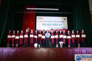 Học viện Ngoại giao tổ chức Lễ trao Bằng tốt nghiệp Đại học Khóa 42