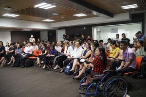 Phát động thi Giải pháp sáng tạo cải thiện tiếp cận cho người khuyết tật