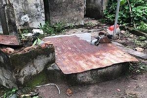 Bé trai 3 tuổi tử vong dưới giếng nước sau nhà