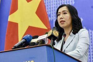 Việt Nam lên tiếng vụ Trung Quốc thử tên lửa chống hạm ở Biển Đông