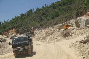 Vụ đào núi trái phép: Xử phạt thêm một số doanh nghiệp, cá nhân