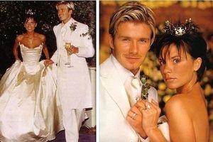 4 con đồng loạt gửi lời chúc ngọt ngào nhân 20 năm ngày cưới vợ chồng Beckham