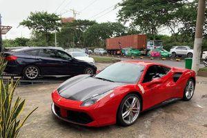 Siêu xe Ferrari 488 GTB của ca sỹ Tuấn Hưng sắp tái xuất