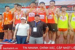 Hà Tĩnh giành 5 huy chương tại Giải Điền kinh học sinh phổ thông