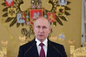 Ông Putin nói không chạy đua vũ trang khi dừng hiệp ước hạt nhân với Mỹ