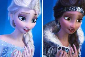 Những nàng công chúa Disney 'lạ lẫm' trong phong cách hoàn toàn mới