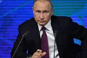 Tổng thống Putin: 'Trái bóng giờ ở phần sân của Mỹ'