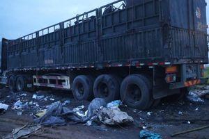 Yên Phong, Bắc Ninh: Phát hiện nhiều xe tải tập kết, xử lý chất thải công nghiệp 'chui'