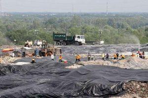 TP.HCM: Mùi hôi tiếp tục 'bức tử' cư dân sống gần bãi rác Đa Phước