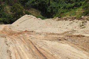 Thừa Thiên - Huế: Thanh tra toàn bộ việc khai thác cát, sỏi trái phép tại suối A Lin