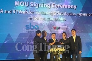 Ra mắt Dự án hợp tác hỗ trợ doanh nghiệp Hàn Quốc tại Việt Nam