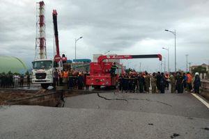 Sụt mặt cầu khiến 5 người thương vong ở Thanh Hóa