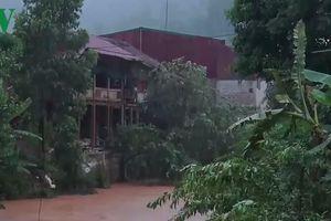 Sơn La mưa lớn, nhiều xã của huyện biên giới Sốp Cộp bị ngập lụt