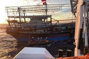 Trung Quốc điều tàu, trực thăng tới hỗ trợ tìm kiếm ngư dân Việt Nam mất tích