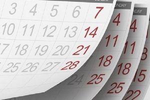 Chế độ nghỉ phép hàng năm tính theo ngày làm việc