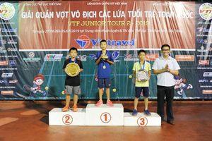 VTF Junior Tour 2-2019: Trần Đức Minh xuất sắc lên ngôi vô địch U10