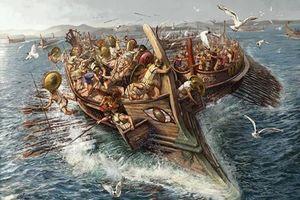 Trận thủy chiến đẫm máu nhất lịch sử thế giới cổ đại