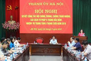 Hà Nội sẽ lập 3 đoàn kiểm tra về phòng, chống tham nhũng