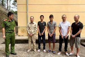 Bắt giữ nhóm giang hồ đòi nợ thuê ở Lạng Sơn