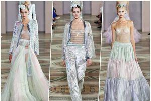 Hàng loạt người mẫu ngực trần trong BST Haute Couture Thu 2019 của Giorgio Armani