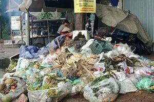 Dân chặn xe vào bãi Nam Sơn, rác thải tràn lan khắp Hà Nội
