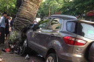 Thái Nguyên: 'Xe điên' gây tai nạn liên hoàn húc văng xe máy khiến 3 người bị thương