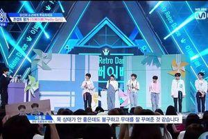 'Produce X 101': Sân khấu 'Pretty Girl' của center học sinh Son Dong Pyo - Song Hyung Jun nhận nhiều lời khen