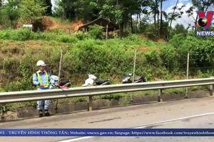 3 xe ô tô đâm liên hoàn trên cao tốc Hà Nội - Lào Cai