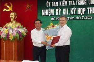 Đồng chí Trần Tiến Hưng, Ủy viên Ủy ban Kiểm tra Trung ương được chỉ định làm Phó Bí thư Tỉnh ủy Hà Tĩnh